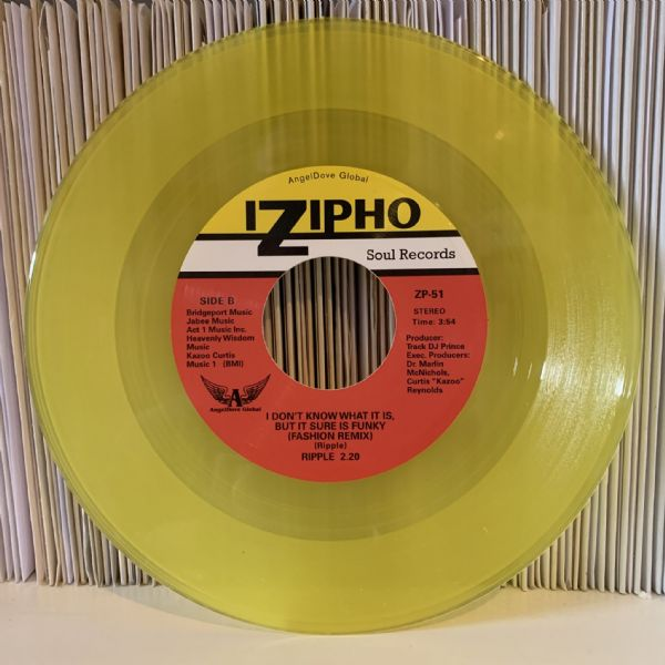 RIPPLE 2.20 - EXERCISE MY LOVE / I DON'T KNOW WHAT IT IS, BUT IT SURE IS FUNKY.  YELLOW VINYL!